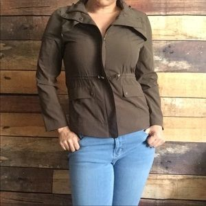 Chicos casual brown size 4/6 everyday jacket